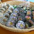 お花見 絵巻寿司