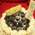 次男1歳の誕生日ケーキ