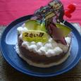 次男2歳バースデーケーキ